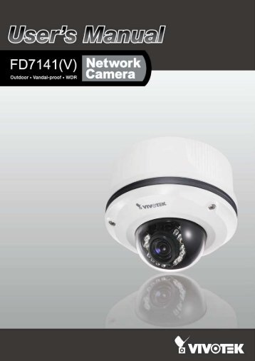 Vivotek FD7141 User Manual - Use-IP