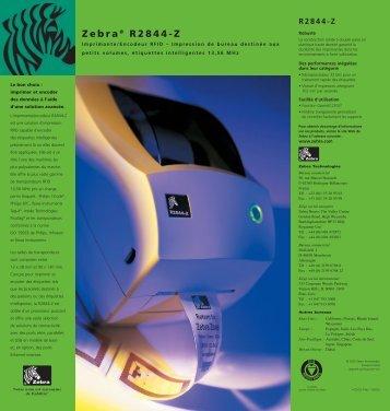 Zebra® R2844-Z - BlueStar