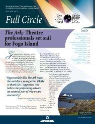 Full Circle, Winter 2012 - National Arts Centre