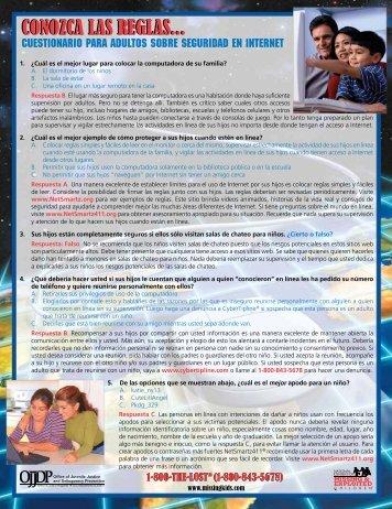 Cuestionario para Adultos Sobre Seguridad en Internet
