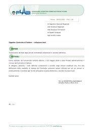 Contratto di Settore - SGB - CISL