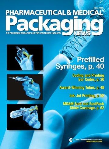 Prefilled Syringes, p. 40 - Safety Syringes, Inc.