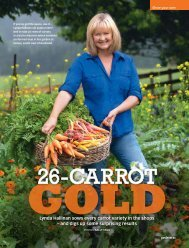 Lynda Hallinan sows every carrot variety in the shops ... - Realview