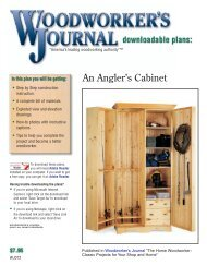 An Angler's Cabinet - Craftsman