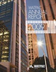 30 June 2009 Annual Report - Watpac