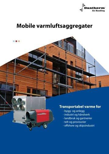 Mobile varmluftsaggregater - Dantherm