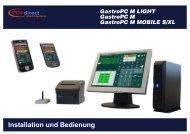 Gastro PC M Installations - POSdirect GastroSysteme