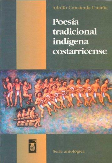 Poesía tradicional indígena costarricense - Sinabi