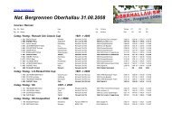 Nat. Bergrennen Oberhallau 31.08.2008 - Racedata