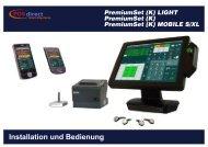 PremiumSet Installations - POSdirect GastroSysteme