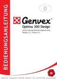 Optima 300 DESIGN - Genvex