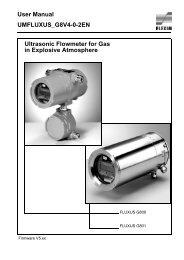 User Manual UMFLUXUS_G8V4-0-2EN Ultrasonic ... - Insatech
