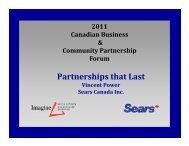 Partnerships that Last - Imagine Canada