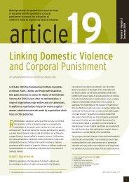 Article 19 Volume 5 Number 2 - December 2009 - Community Law ...