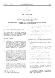Reglamento (UE) no 1088/2010 de la Comisión, de 23 ... - EUR-Lex