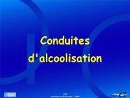 7 - Conduites d'alcoolisation - SFA
