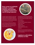 Ohio's World-Class Transportation, Distribution and Logistics Industry - Page 2