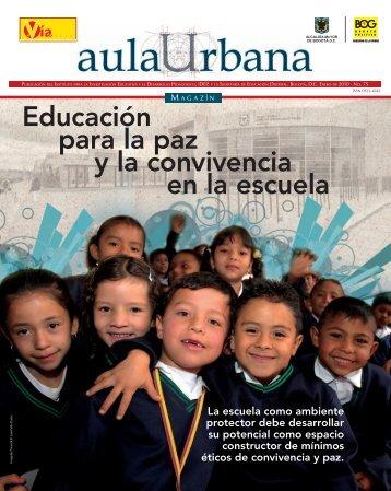 Magazin Aula Urbana Edición numero 75 - IDEP