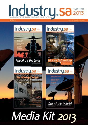 Download our Media Pack here - IndustrySA