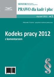 Kodeks pracy 2012 - Infor