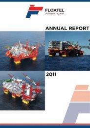 Annual Report 2011 - Floatel International