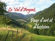 Esquisse historique du VA - le site du Val d'Argent
