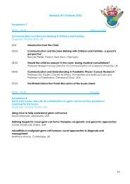 Monday 8 October - SIOP 2012, 44th Congress of the International ...