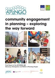 community engagement in planning – exploring the way forward