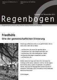 Regenbogen November 2011 - St. Heinrich