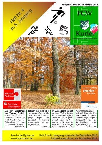 Download von Heft 2012 / 4 - fcw-kurier.de