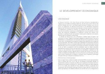 LE DÉVELOPPEMENT ÉCONOMIQUE - UAE Interact