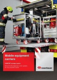 Mobile equipment carriers - Rosenbauer