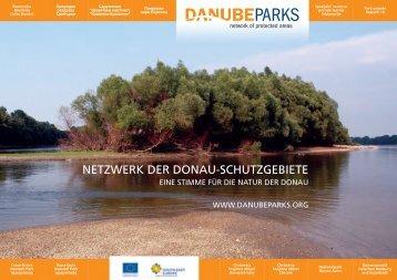 NETZWERK DER DONAU-SCHUTZGEBIETE - DANUBEPARKS
