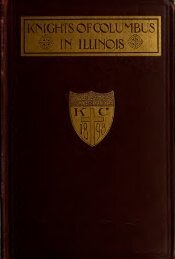 knights ofcolumbus - University Library - University of Illinois at ...