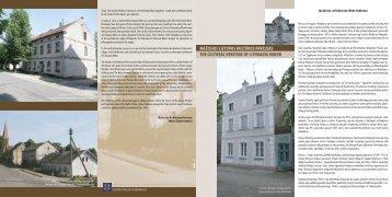 mažosios lietuvos kultūros paveldas the cultural heritage of lithuania ...