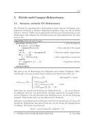 5 Divide-and-Conquer-Rekursionen