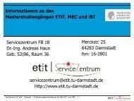 Prüfungsordnung MSc MEC - ETiT