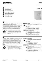 B2811 Bedienungsanleitung Mode d'emploi Istruzioni di ... - ALPAT