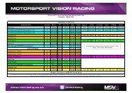8/9 June 2013 - American SpeedFest, Brands Hatch Indy Timetable ...