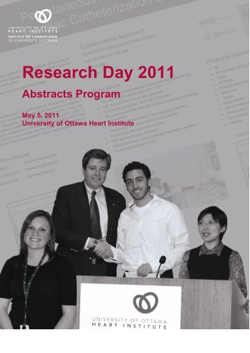 Research Day 2011 - University of Ottawa Heart Institute