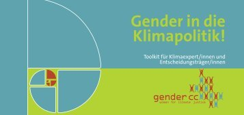 Gender in die Klimapolitik! - Gender CC
