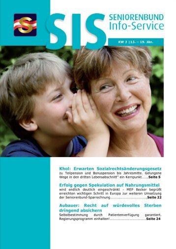 SIS KW 3 - Österreichischer Seniorenbund