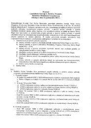 Protokół z posiedzenia Komisji ds. Budżetu, Finansów, Rolnictwa i ...