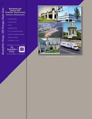 Rockefeller Group / IDI Foreign Trade Zone ... - CPG Interactive