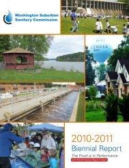 2010-2011 WSSC Biennial Report - Washington Suburban Sanitary ...