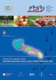 Studio_Passi_Nov09.pdf - Portale Regionale della Salute
