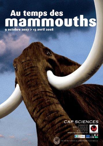 au temps des mammouths - Cap Sciences