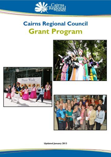 Grant Program - Cairns Regional Council - Queensland Government