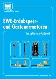 EWE-Erdabsperr- und Gartenarmaturen