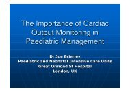 The Importance of Cardiac Output Monitoring in Paediatric - Uscom